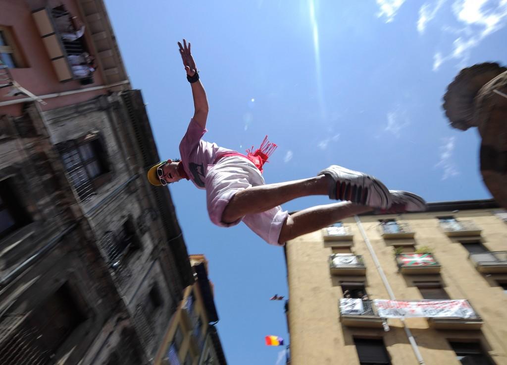 Fiesta De San Fermin Running Of The Bulls - Day 1